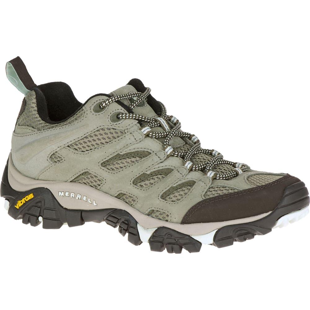 MERRELL Women's Moab Ventilator Hiking Shoes, Granite - GRANITE