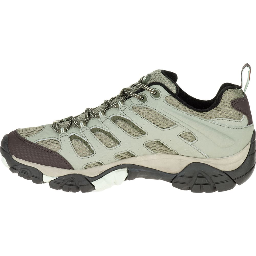 70f7a34c7 MERRELL Women's Moab Waterproof Hiking Shoes, Granite - GRANITE