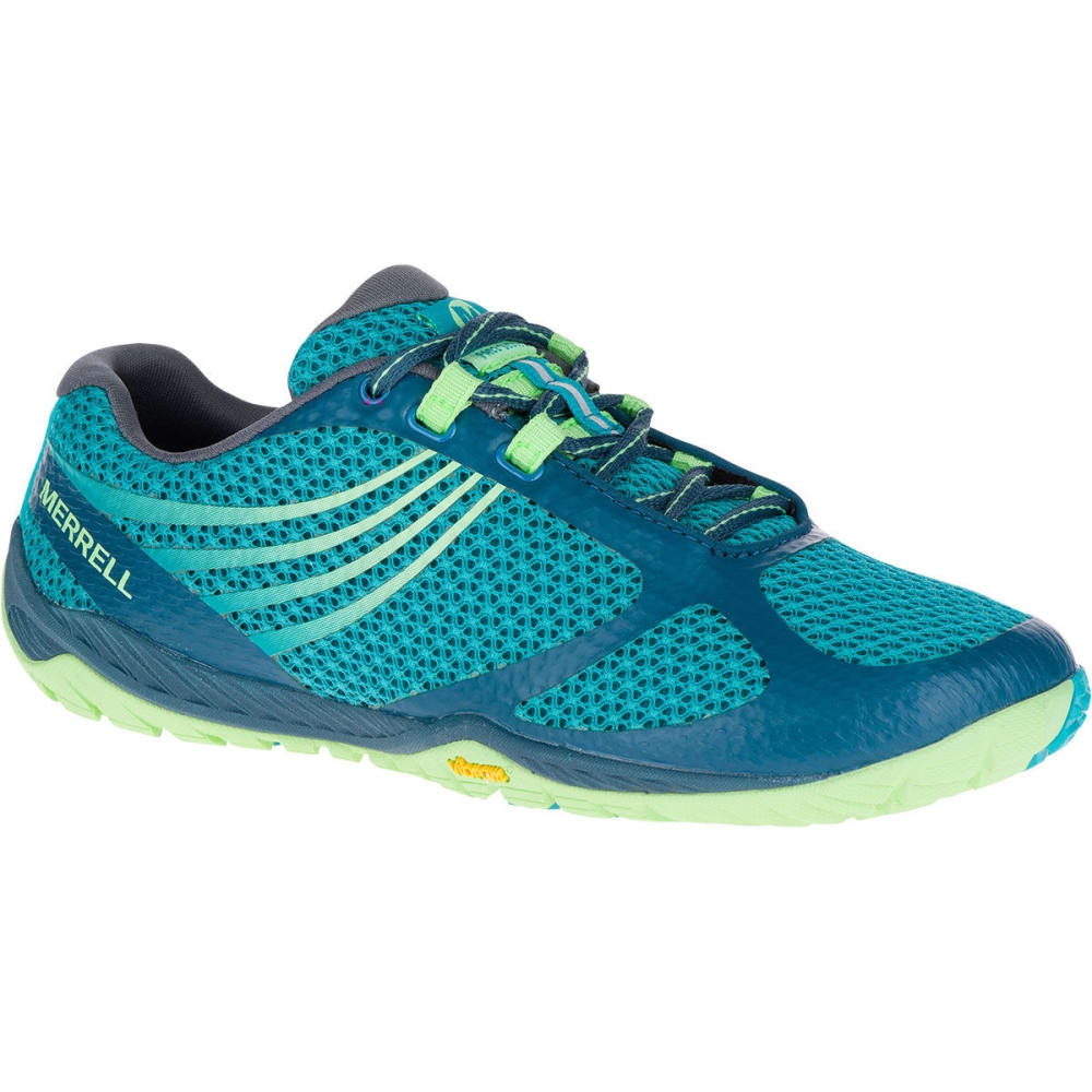 MERRELL Women's Pace Glove 3 Running Shoes, Turquoise - TURQUOISE