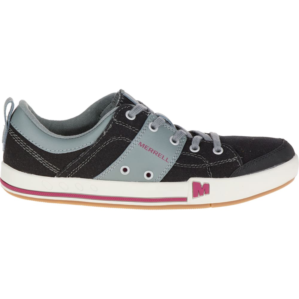 MERRELL Women's Rant Canvas Sneakers, Black - BLACK