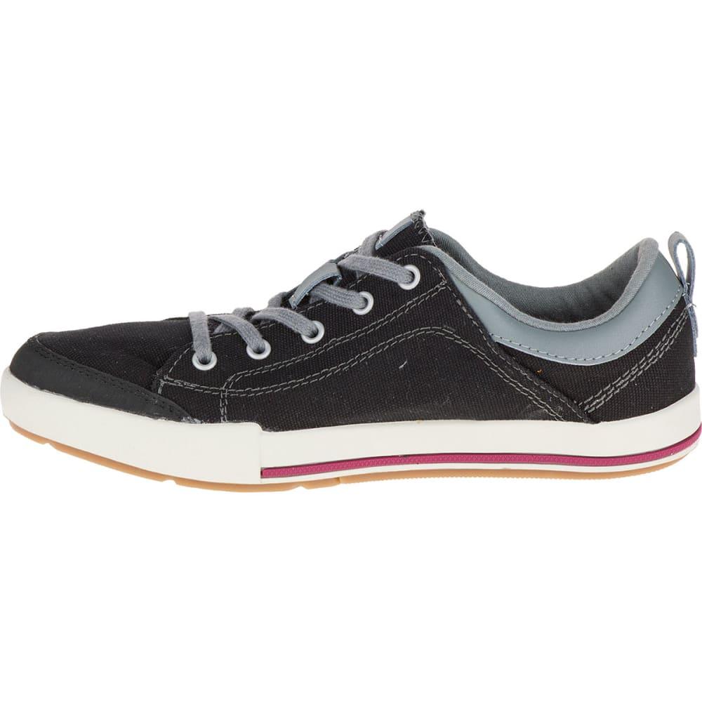 MERRELL Women's Rant Canvas Sneakers, Black - BLACK
