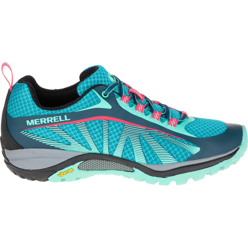 MERRELL Women's Siren Edge Hiking Shoes, Blue - BLUE
