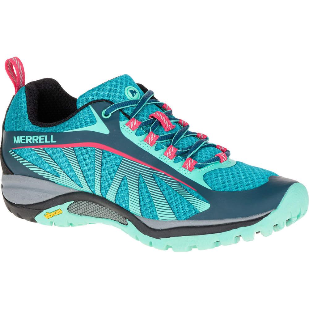MERRELL Women's Siren Edge Hiking Shoes, Blue - BLUE