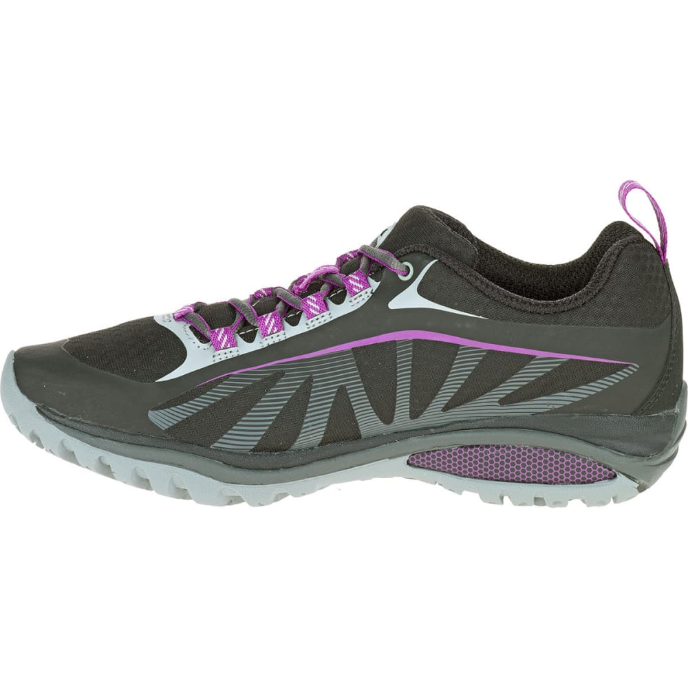 ... MERRELL Women's Siren Edge Hiking Shoes, Black/Purple - BLACK/PURPLE  ...