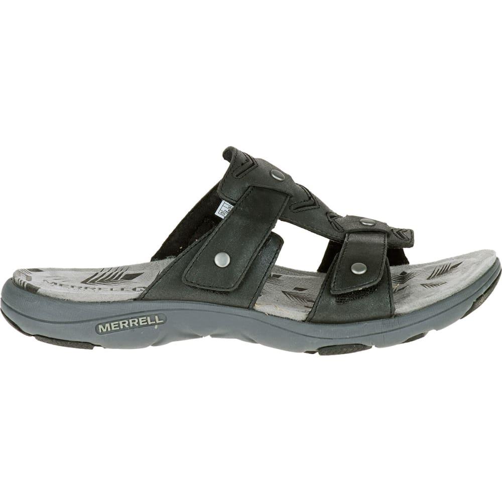 Innovative FitFlop Womens All Black Carmel Slide Sandals Style Slip On Shoes 670-090 | EBay