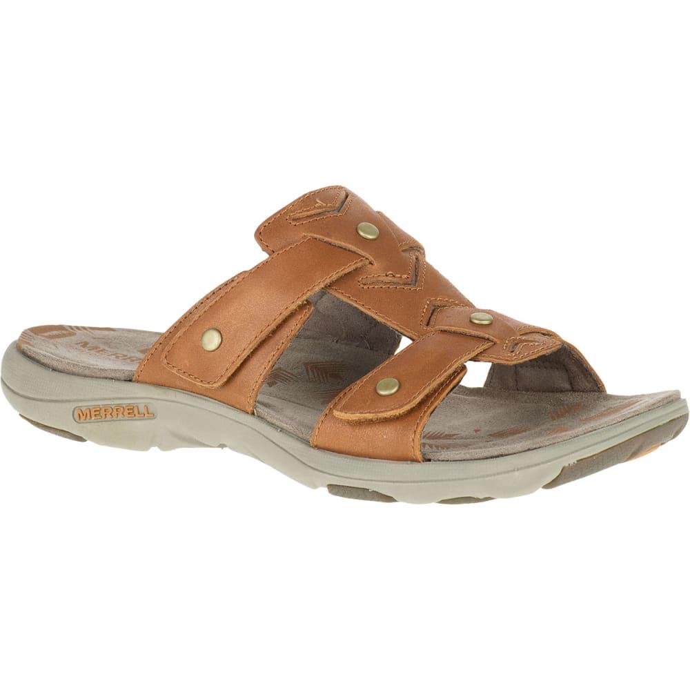 Creative Bruno Premi X3304X Women Leather Tan Gladiator Sandal Sandals