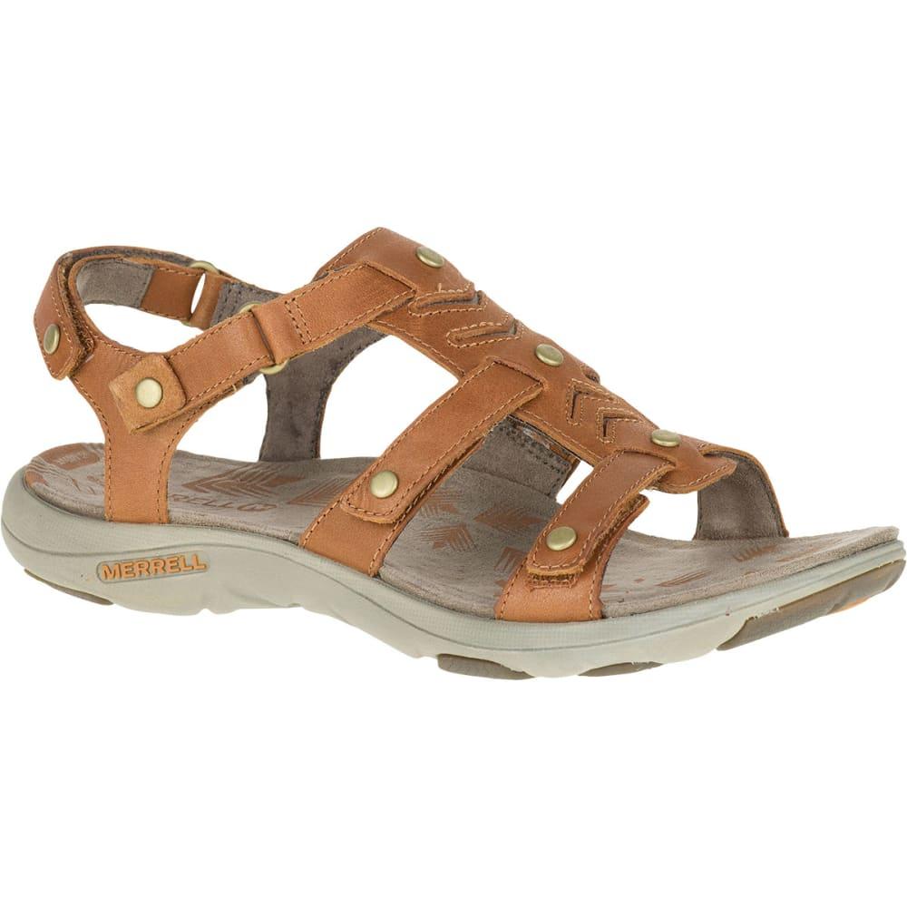 MERRELL Women's Adhera Strap Sandals, Tan - TAN