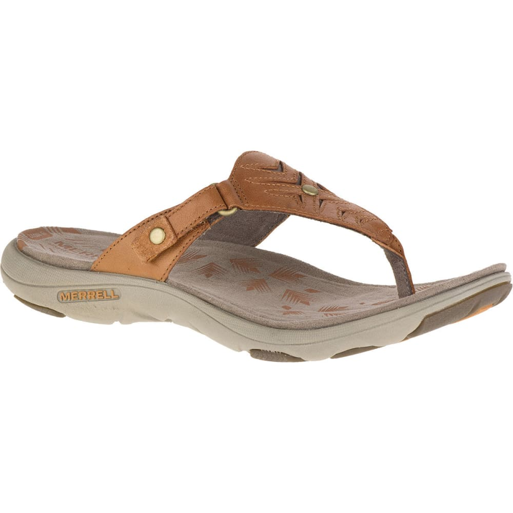 Unique Saint Laurent Womens Tan Strappy Flat Leather Sandals  Caxaa
