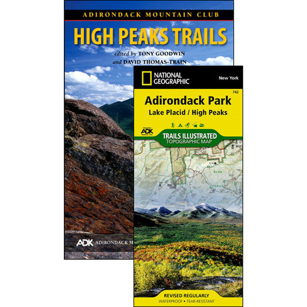 ADK High Peaks Trail Guide Map Pack - NO COLOR