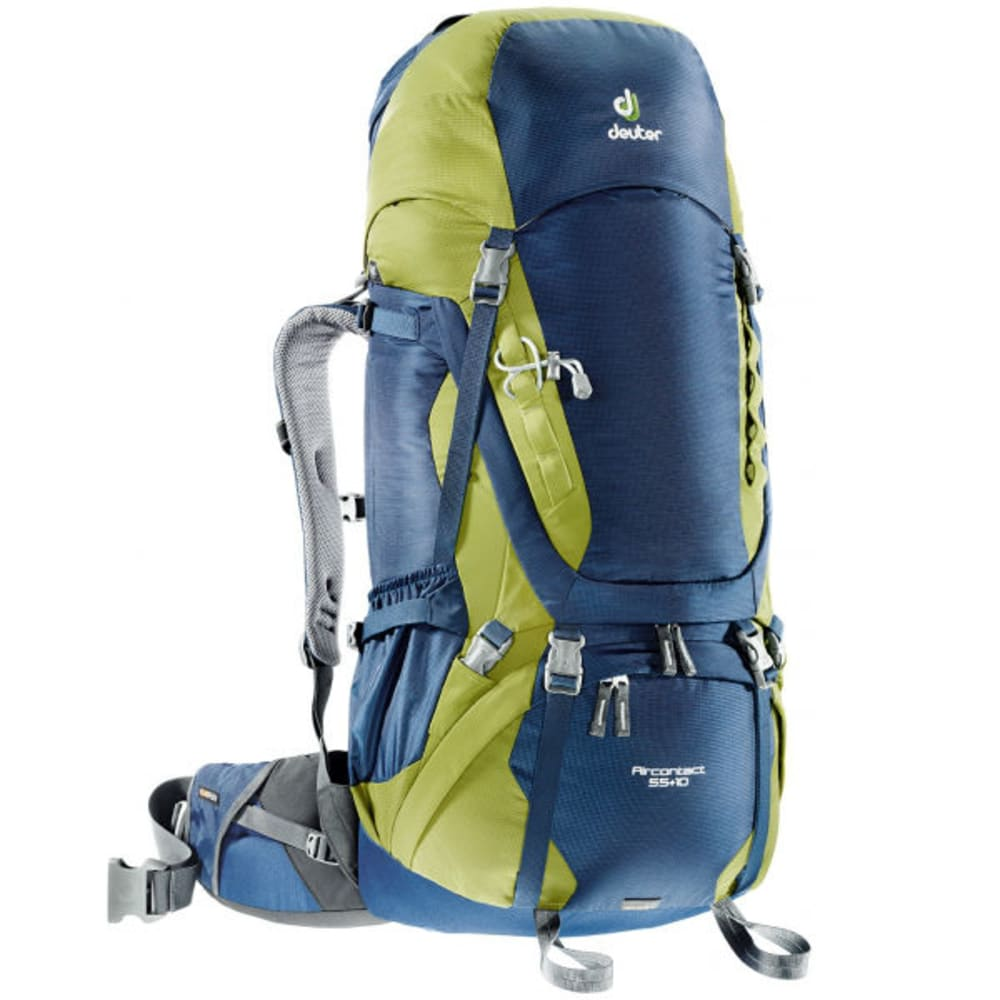 DEUTER Aircontact 55+10 Pack - MIDNIGHT/MOSS
