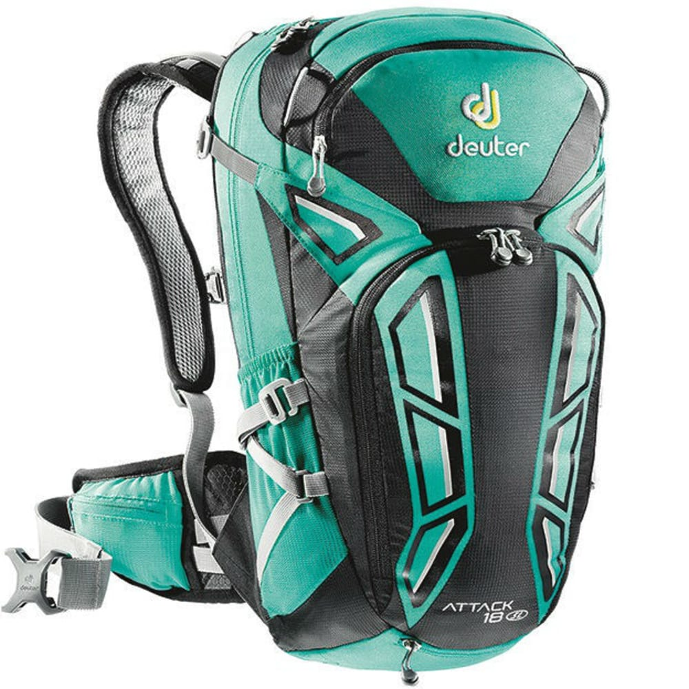 DEUTER Women's Attack 18 SL Cycling Pack - MINT/BLACK