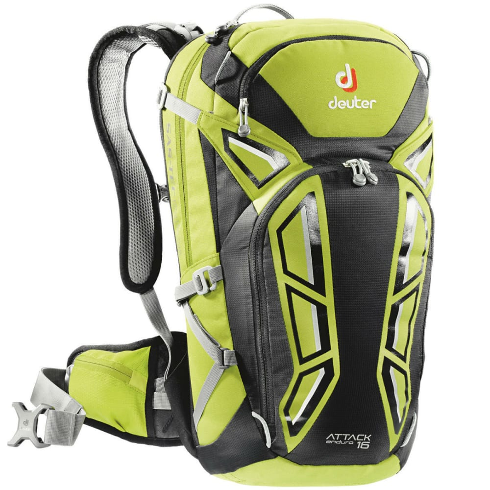 DEUTER Attack Enduro 16 Cycling Pack - APPLE/BLACK