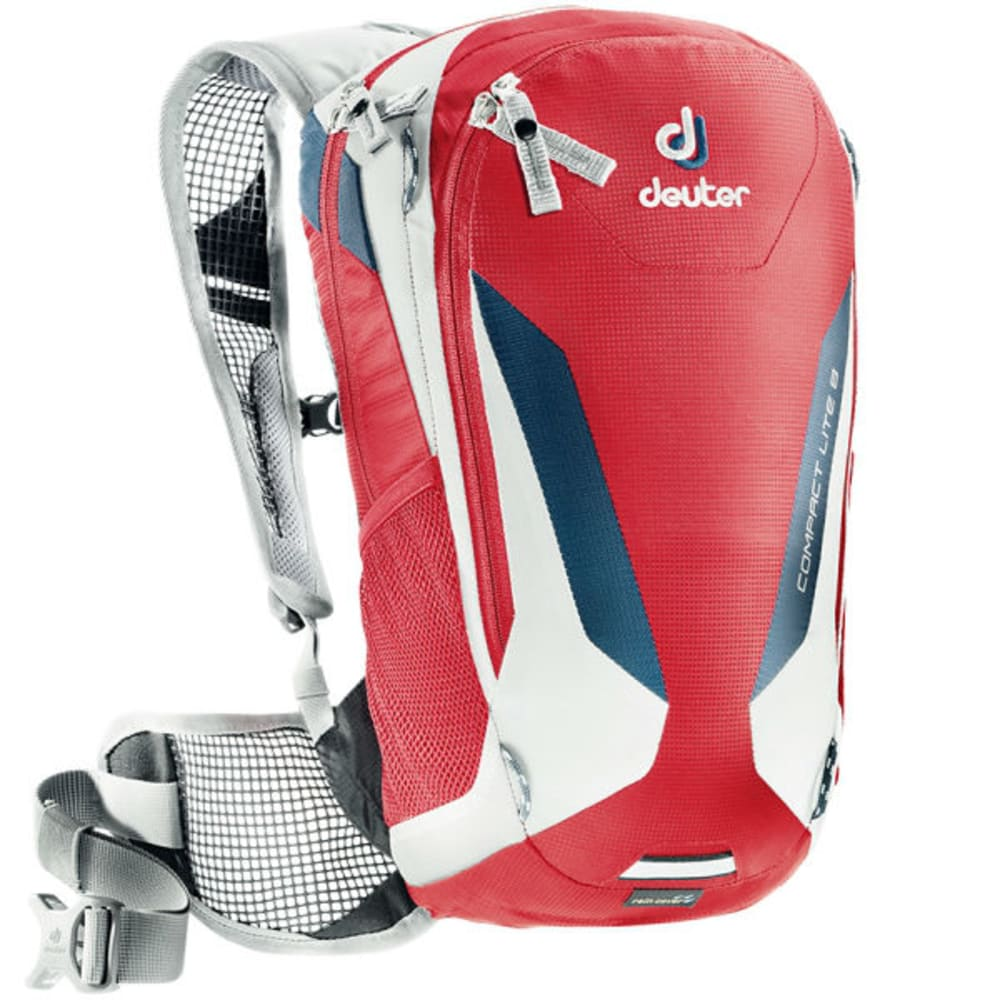 DEUTER Compact Lite 8 Pack with 3L Reservoir - FIRE/WHITE
