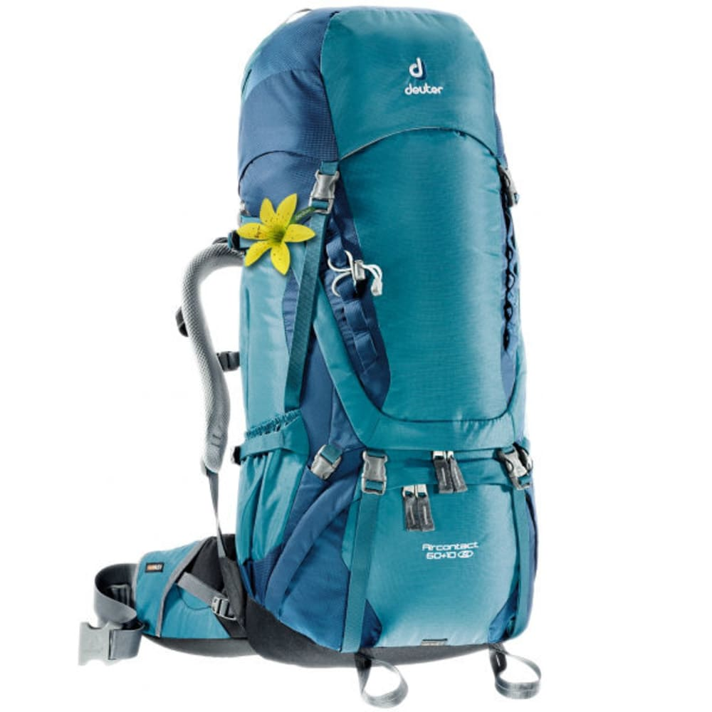 DEUTER Women's Aircontact 60+10 SL Pack  - DENIM/MIDNIGHT