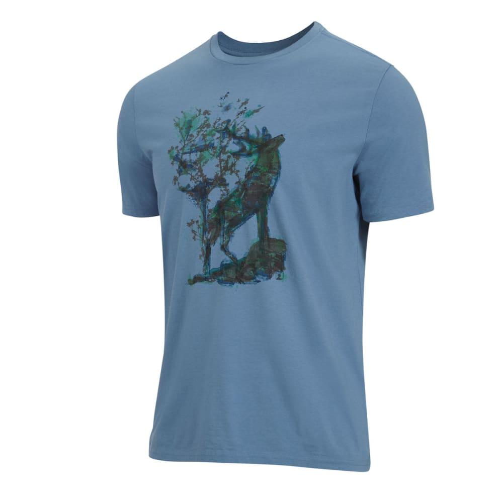 EMS® Men's Ink Elk Tee - CORONET BLUE
