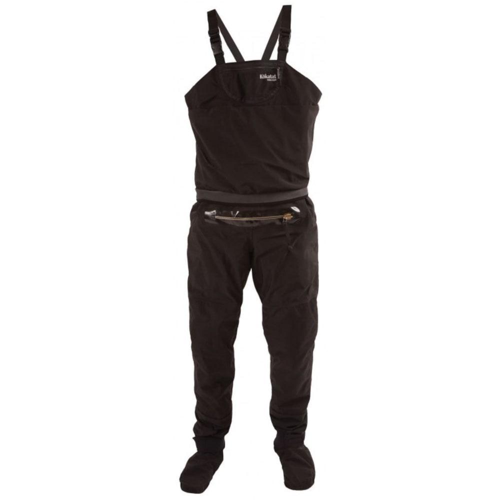 KOKATAT Men's Gore-Tex Whirlpool Bib w/ Relief Zipper & Socks - BLACK