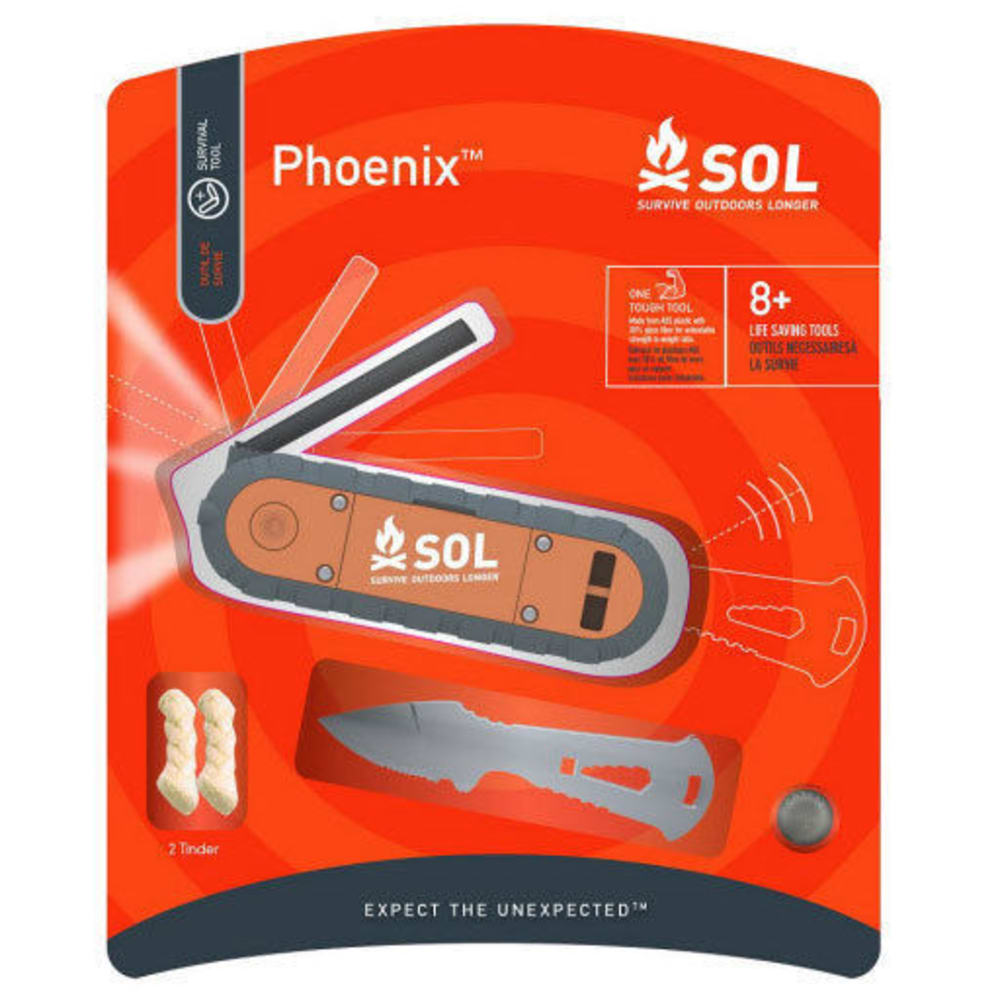 SOL Phoenix Survival Kit - NO COLOR