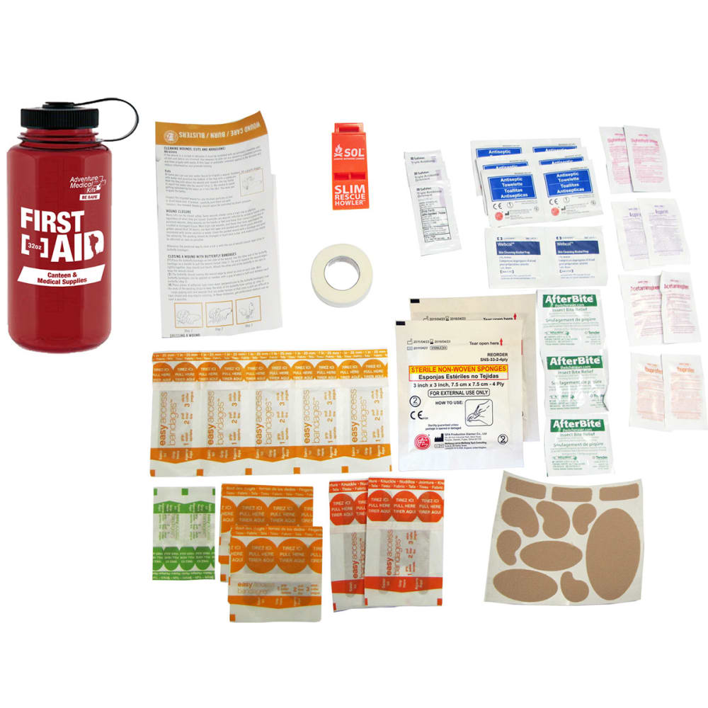 ADVENTURE MEDICAL 32 oz. First Aid Kit - NO COLOR