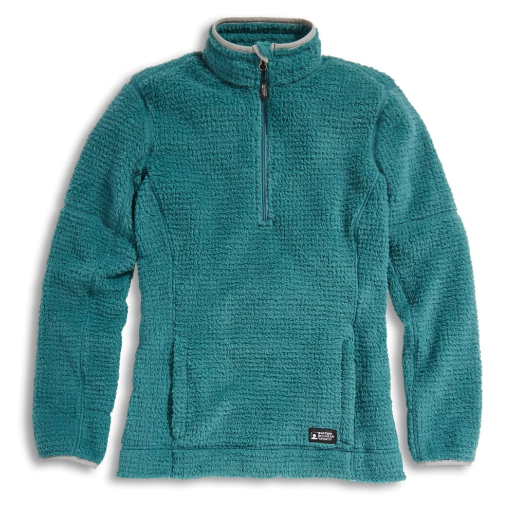 EMS® Women's High Peaks  ¼ Zip Pullover - OIL BLUE HEATHER