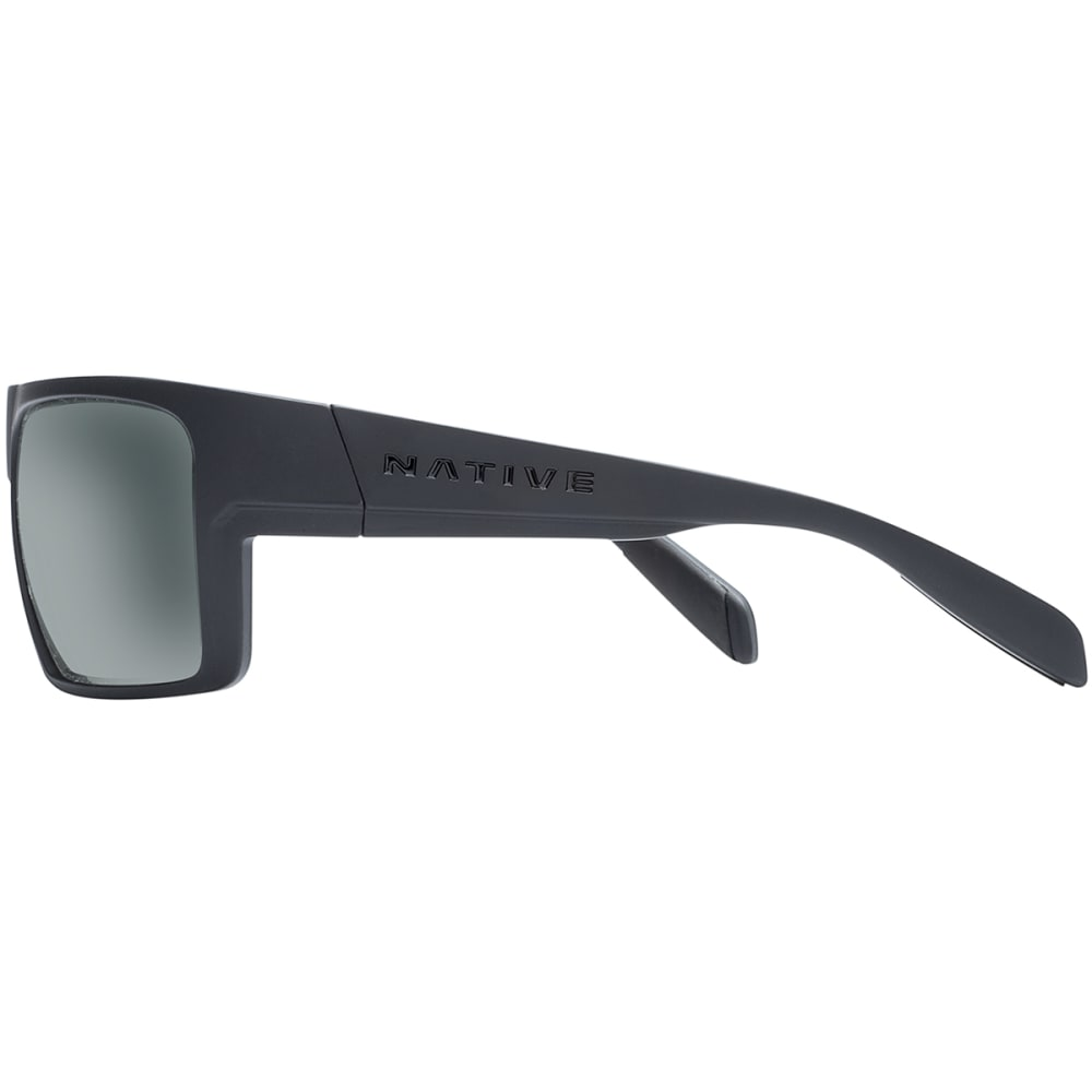 NATIVE EYEWEAR Eldo with Blue Reflex Lens Sunglasses - Asphalt/Granite/Gray