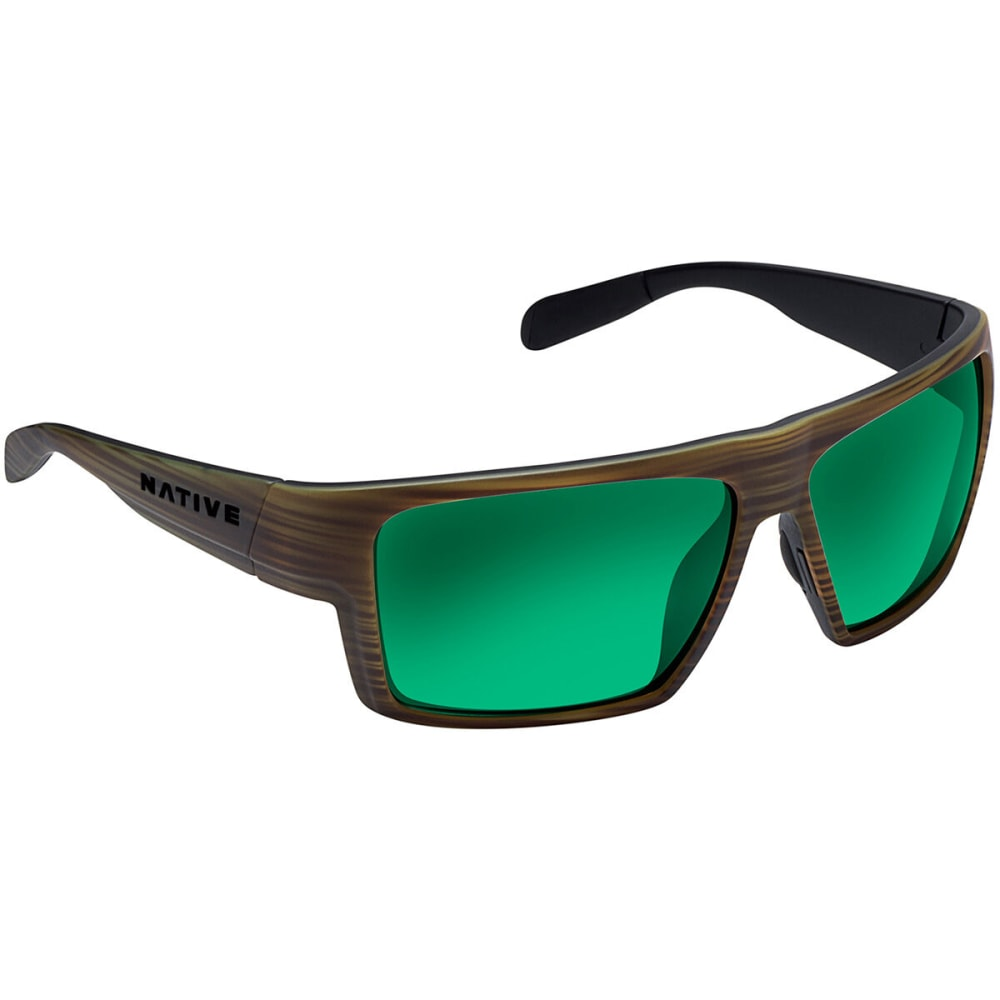 82e2b91f7c7 NATIVE EYEWEAR Eldo Polarized Sunglasses - WOOD BLACK BLACK