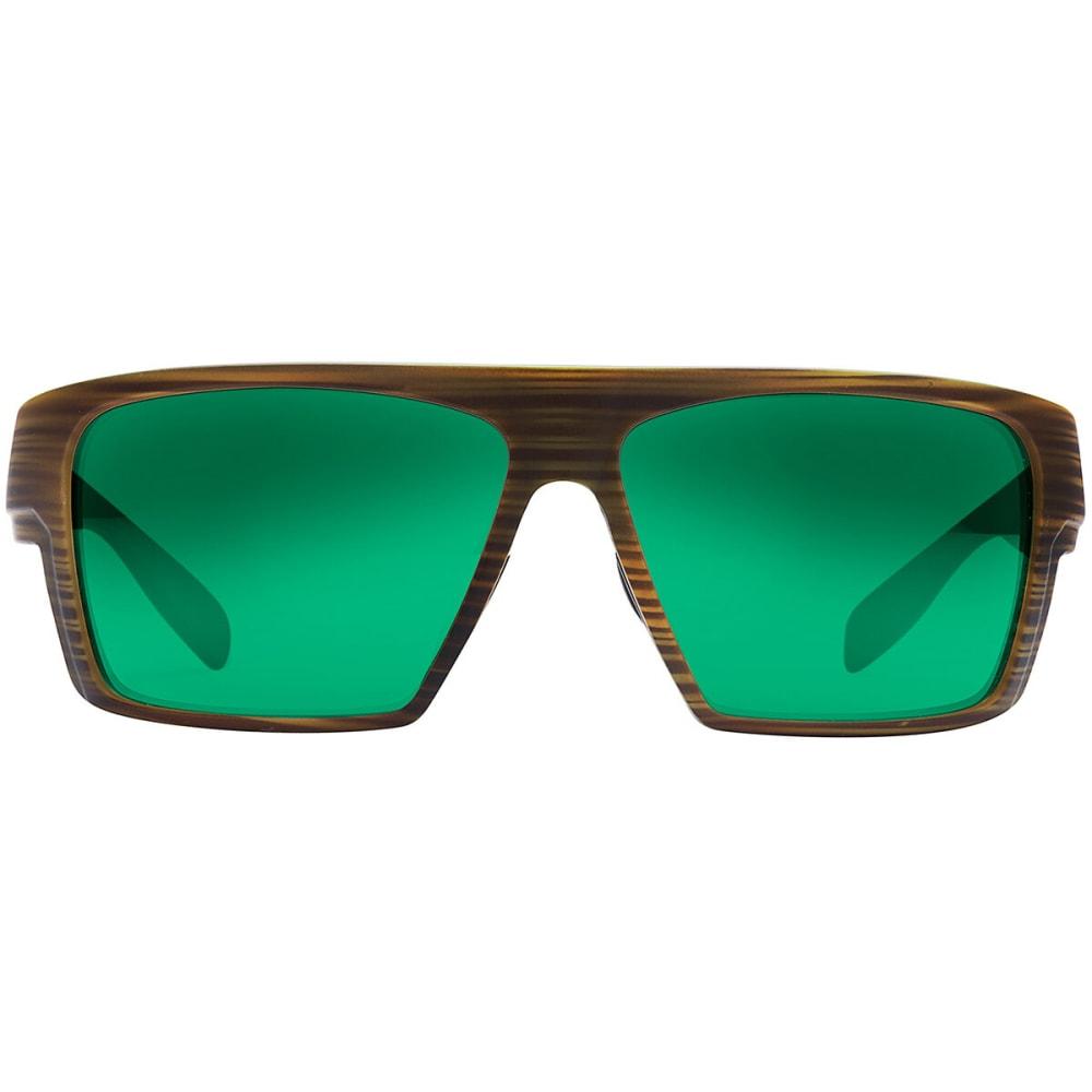 NATIVE EYEWEAR Eldo Polarized Sunglasses - WOOD/BLACK/BLACK
