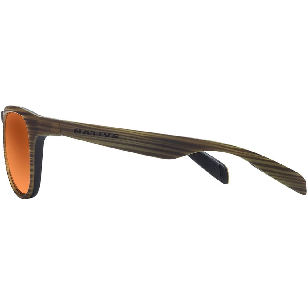 NATIVE EYEWEAR Sanitas Sunglasses - Wood/Black