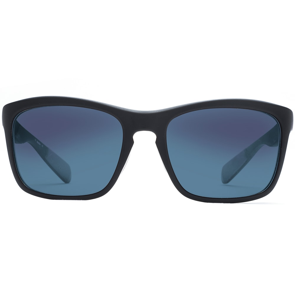 NATIVE EYEWEAR Penrose Asphalt with Blue Reflex Lens Sunglasses - BLACK/CRYSTAL/CRYSTA