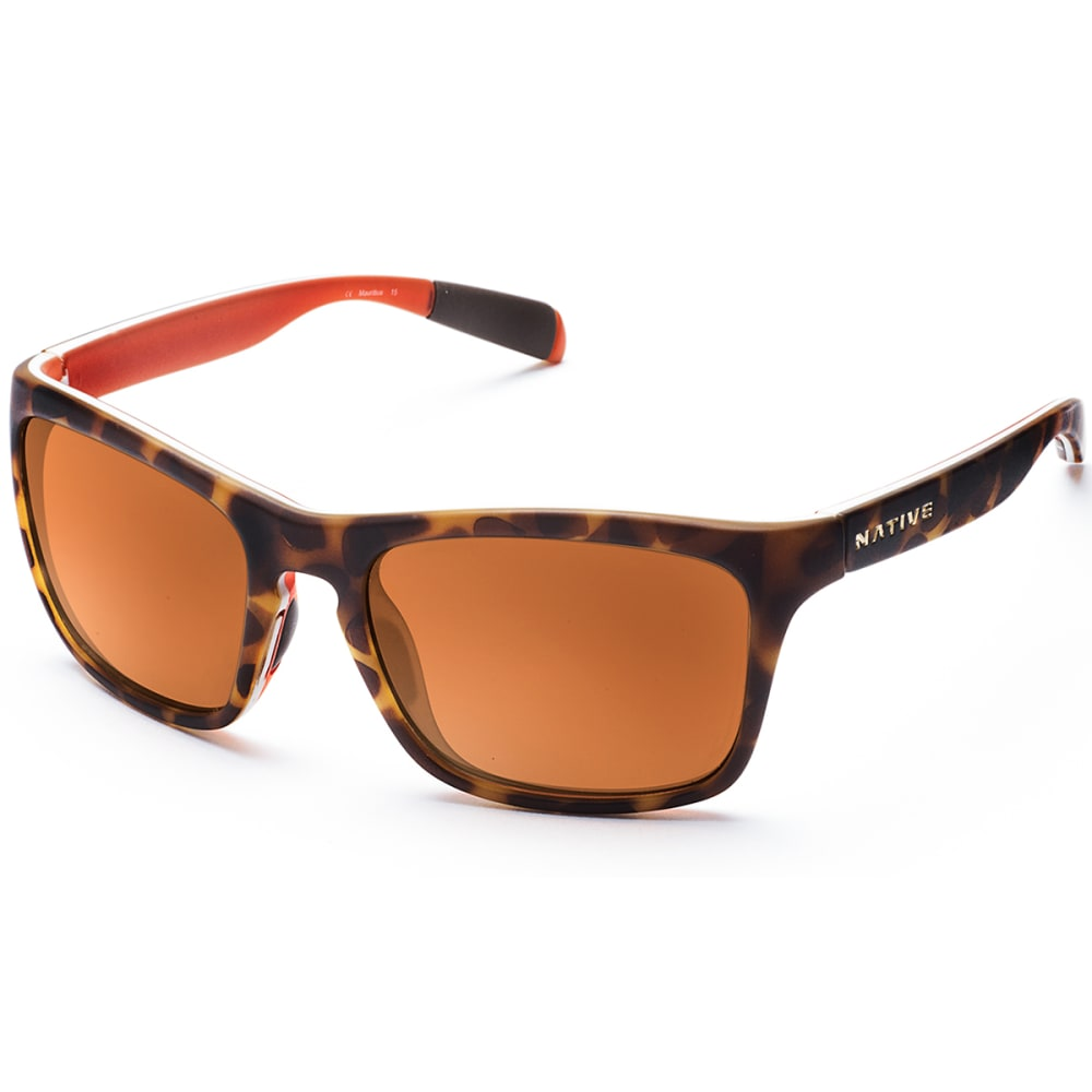 NATIVE EYEWEAR Penrose™ Bronze Reflex Lens Sunglasses - Desert Tort
