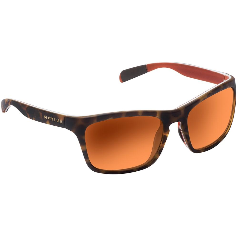 NATIVE EYEWEAR Penrose Bronze Reflex Lens Sunglasses - Desert Tort