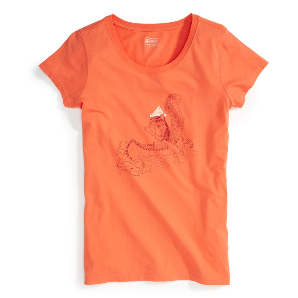 EMS® Women's Captain Irving B. Squirrel Graphic Tee - CAMELLIA