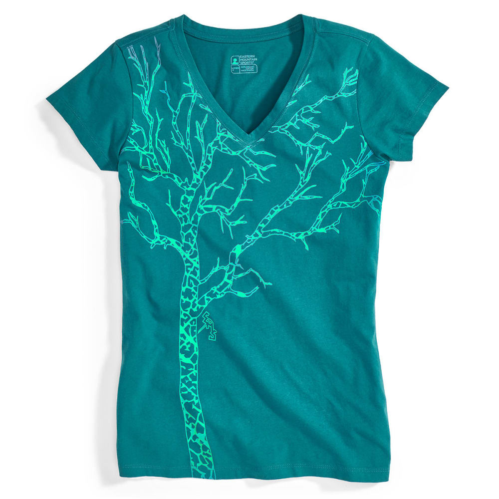 EMS Women's Timber Graphic Tee - EVERGLADE