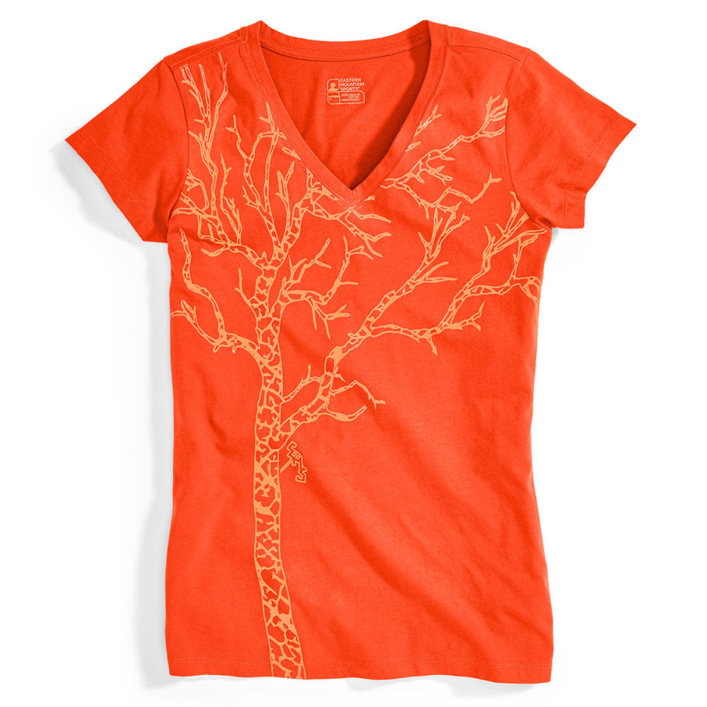 EMS® Women's Timber Graphic Tee - POPPY RED