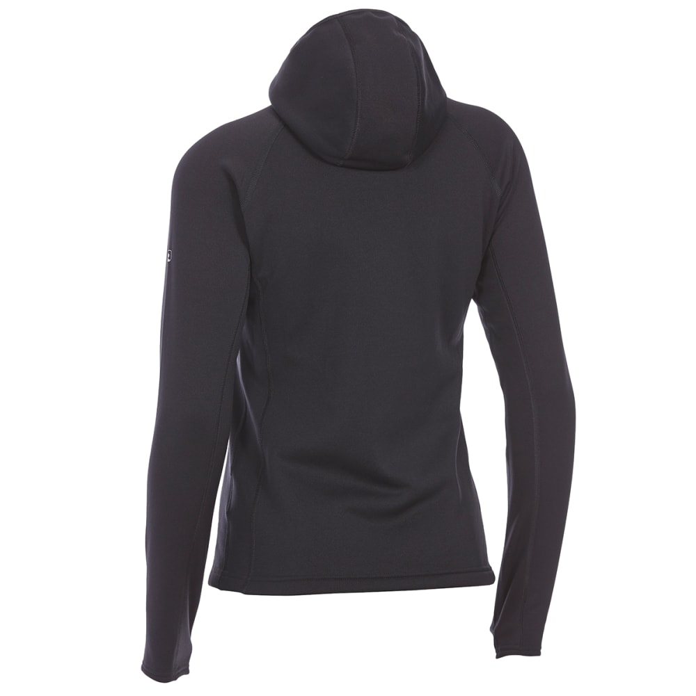EMS Women's Equinox Power Stretch Hoodie - BLACK