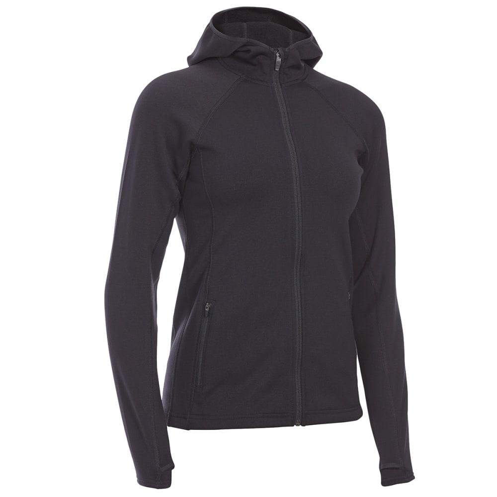 EMS Women's Equinox Power Stretch Hoodie - BLACK