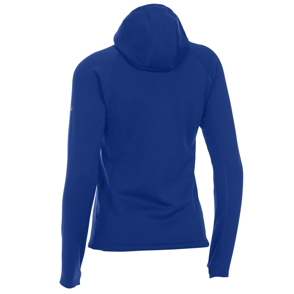 EMS Women's Equinox Power Stretch Hoodie - VIBRANT ROYAL HTR