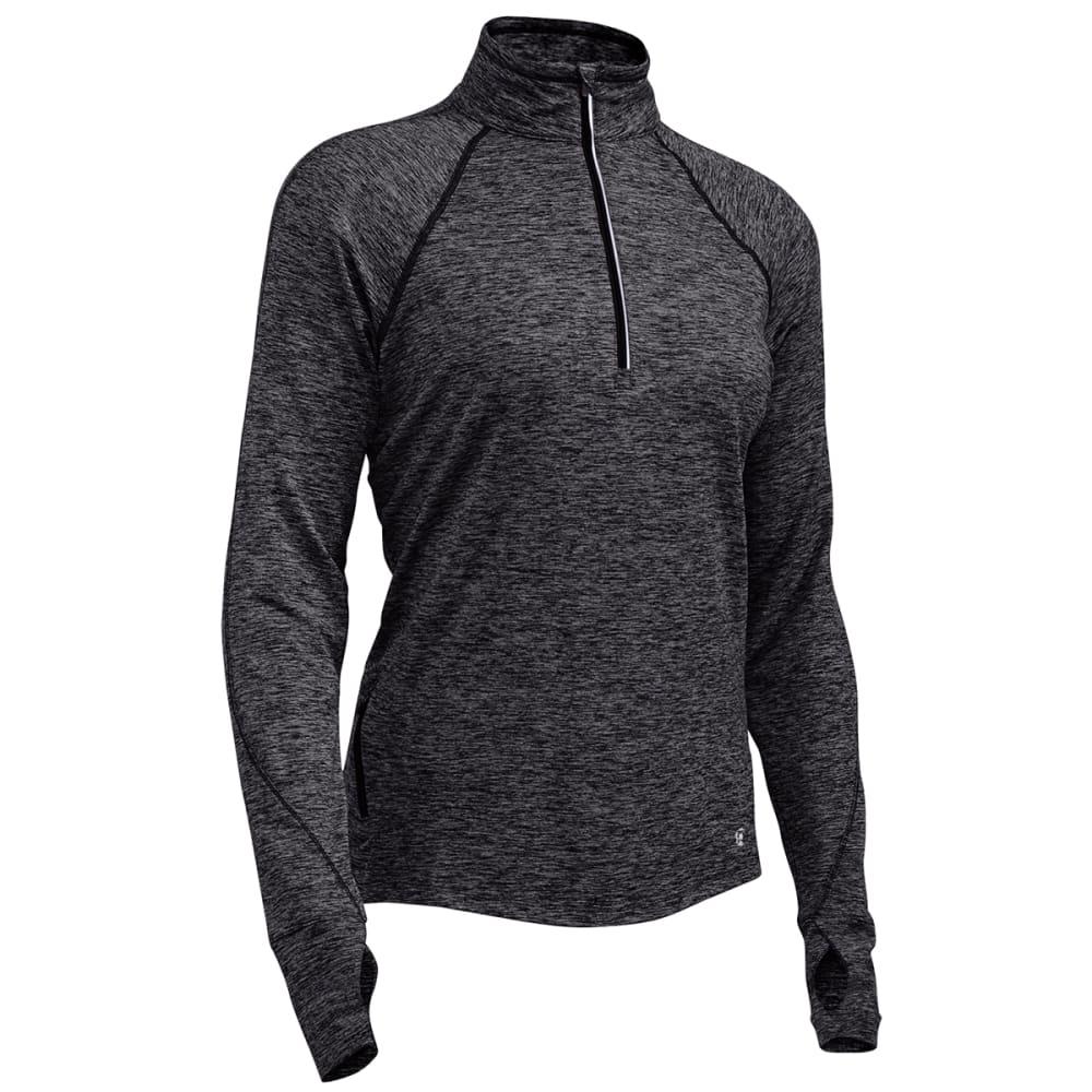 EMS® Women's Techwick® Transition  ½-Zip Pullover - BLACK HTR