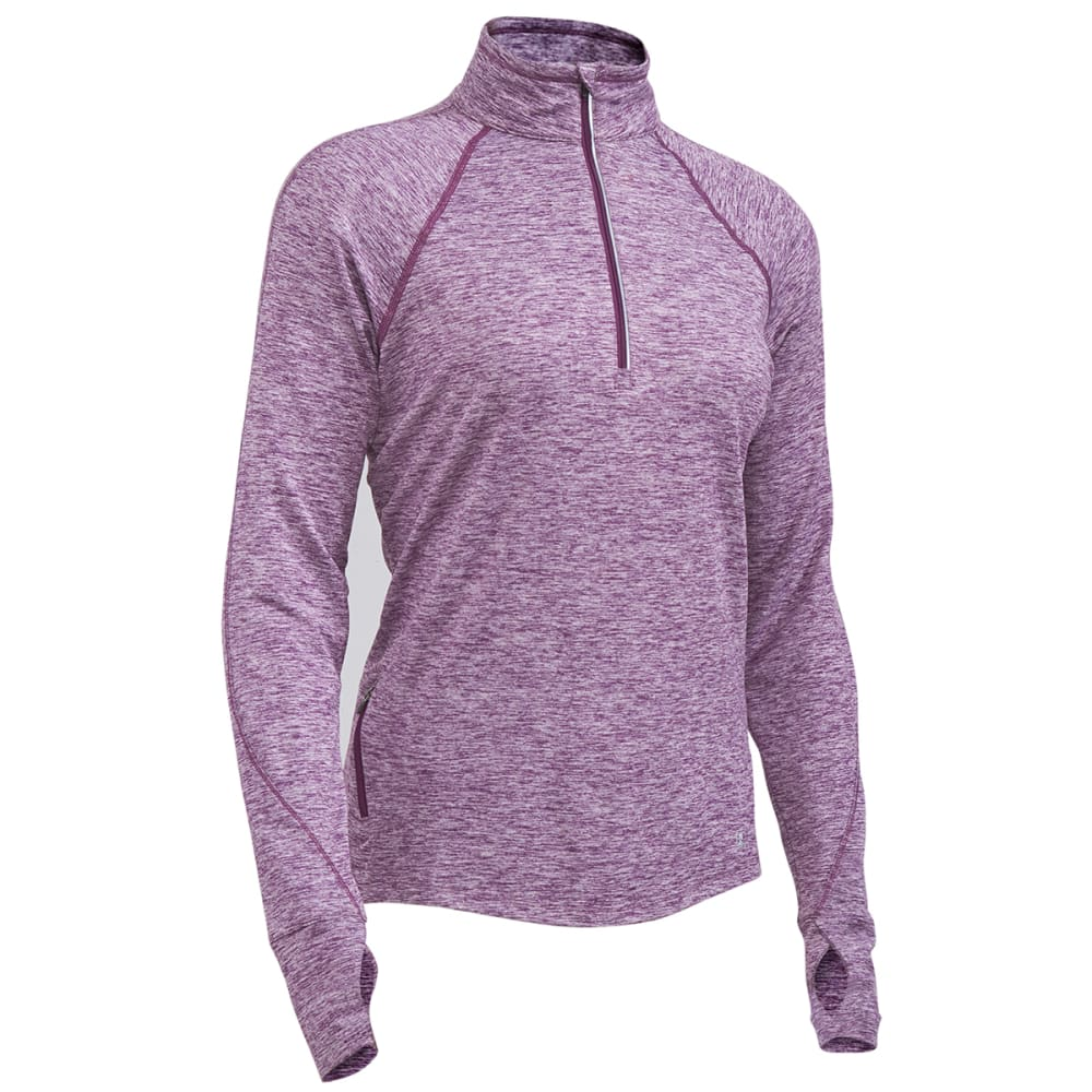 EMS® Women's Techwick® Transition  ½-Zip Pullover - MAJESTY HEATHER