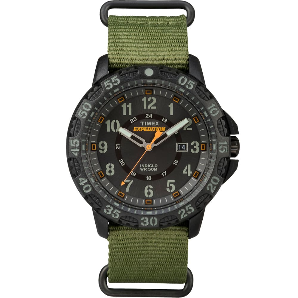 TIMEX Expedition Gallatin Watch - GREEN/BLACK