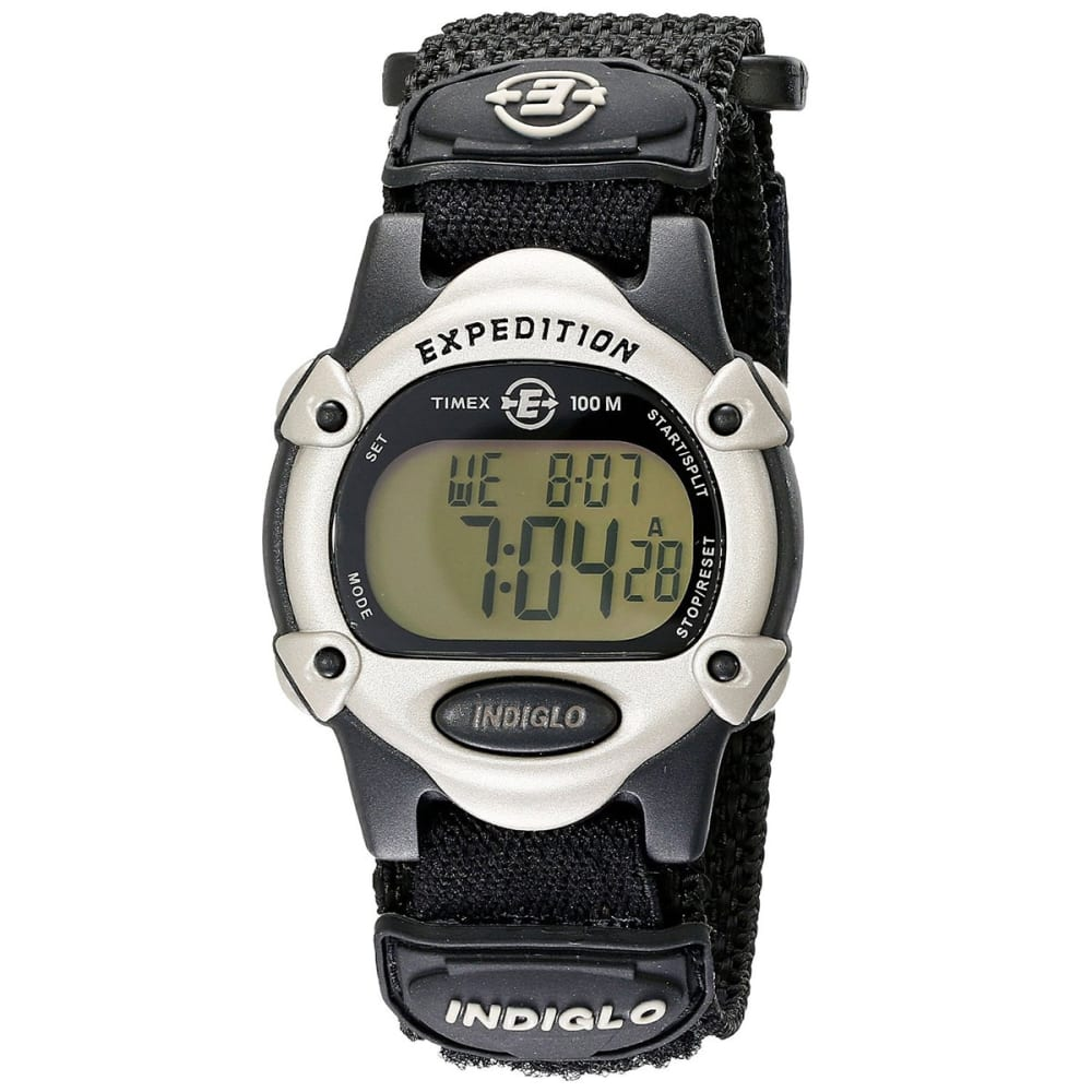 TIMEX Expedition Chrono Watch - BLACK/SILVER