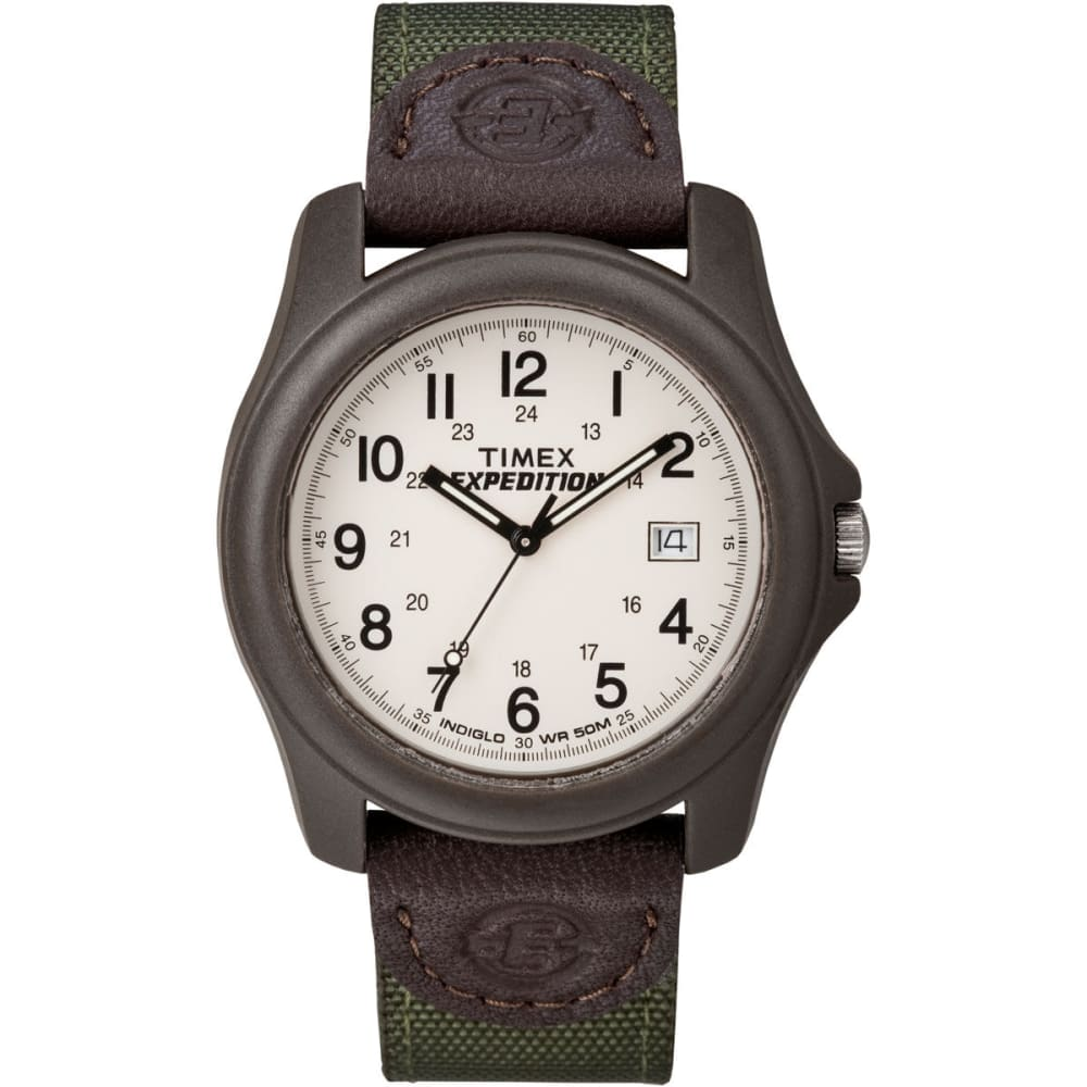 TIMEX Expedition Camper Watch - BROWN/GREEN