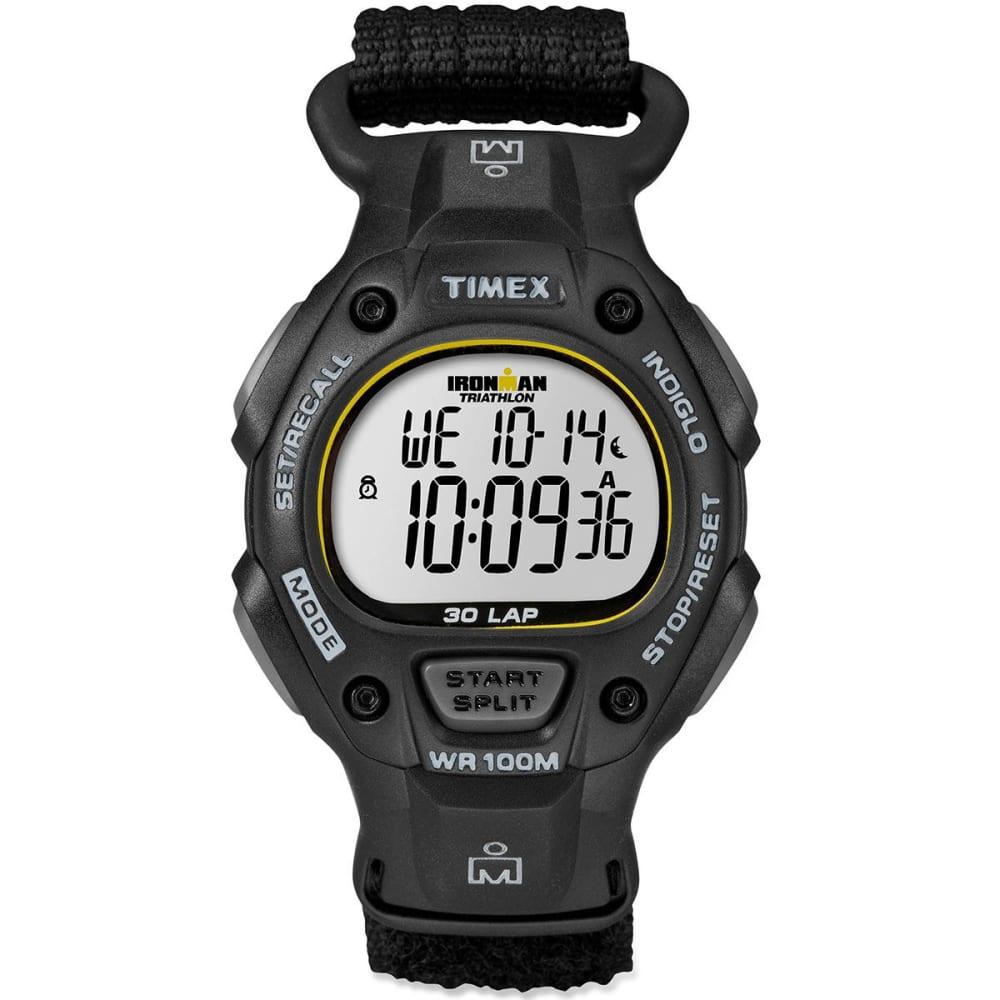 TIMEX Ironman 30-Lap Watch - BLACK