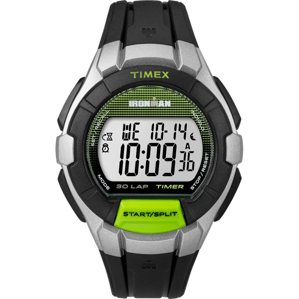 TIMEX Ironman Traditional 30-Lap Full-Size Watch - Green/Gray