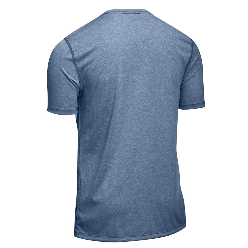 EMS® Men's Techwick® Essentials Short-Sleeve Crew - ENSIGN BLUE HTR