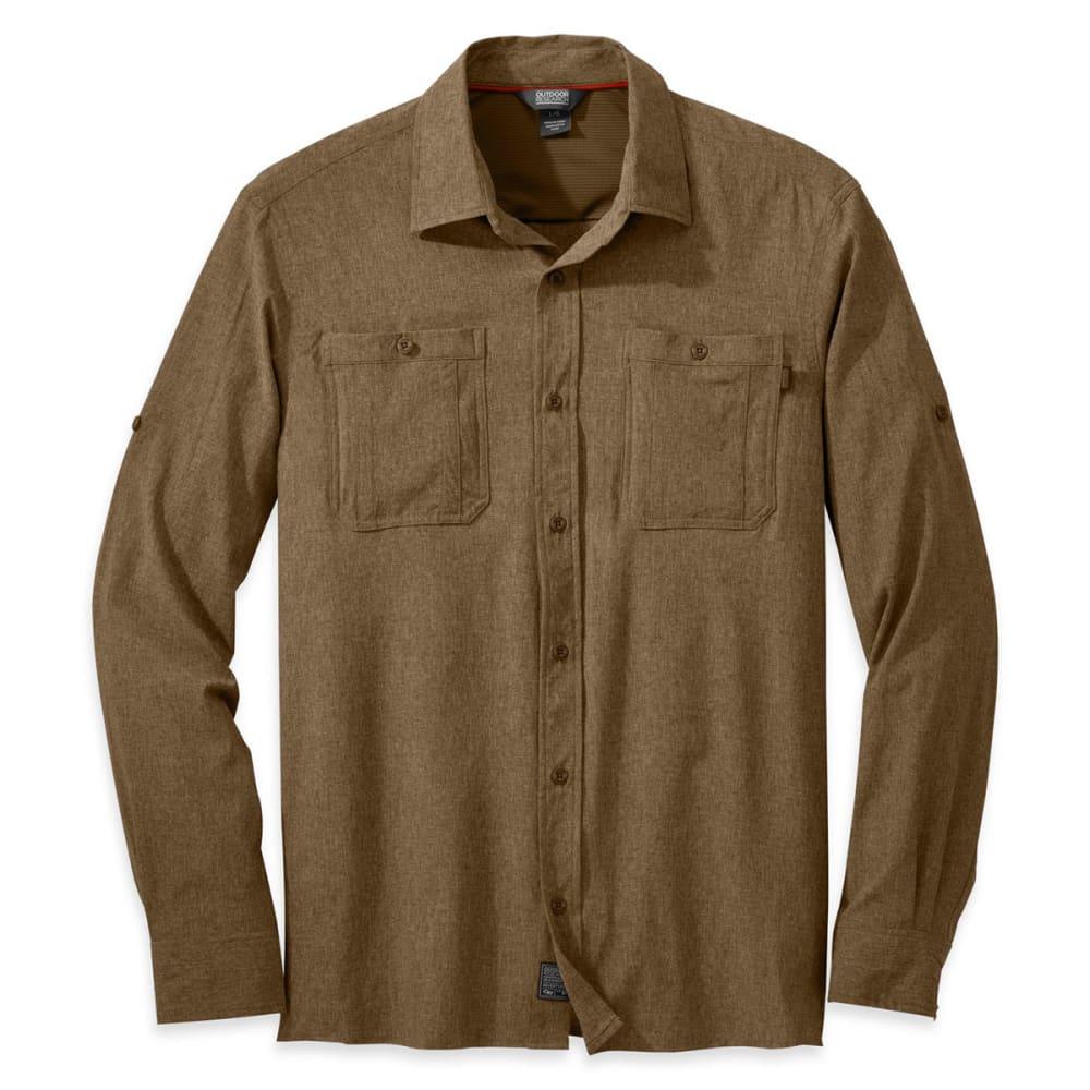 Outdoor research men 39 s wayward long sleeve shirt for Mens outdoor long sleeve shirts