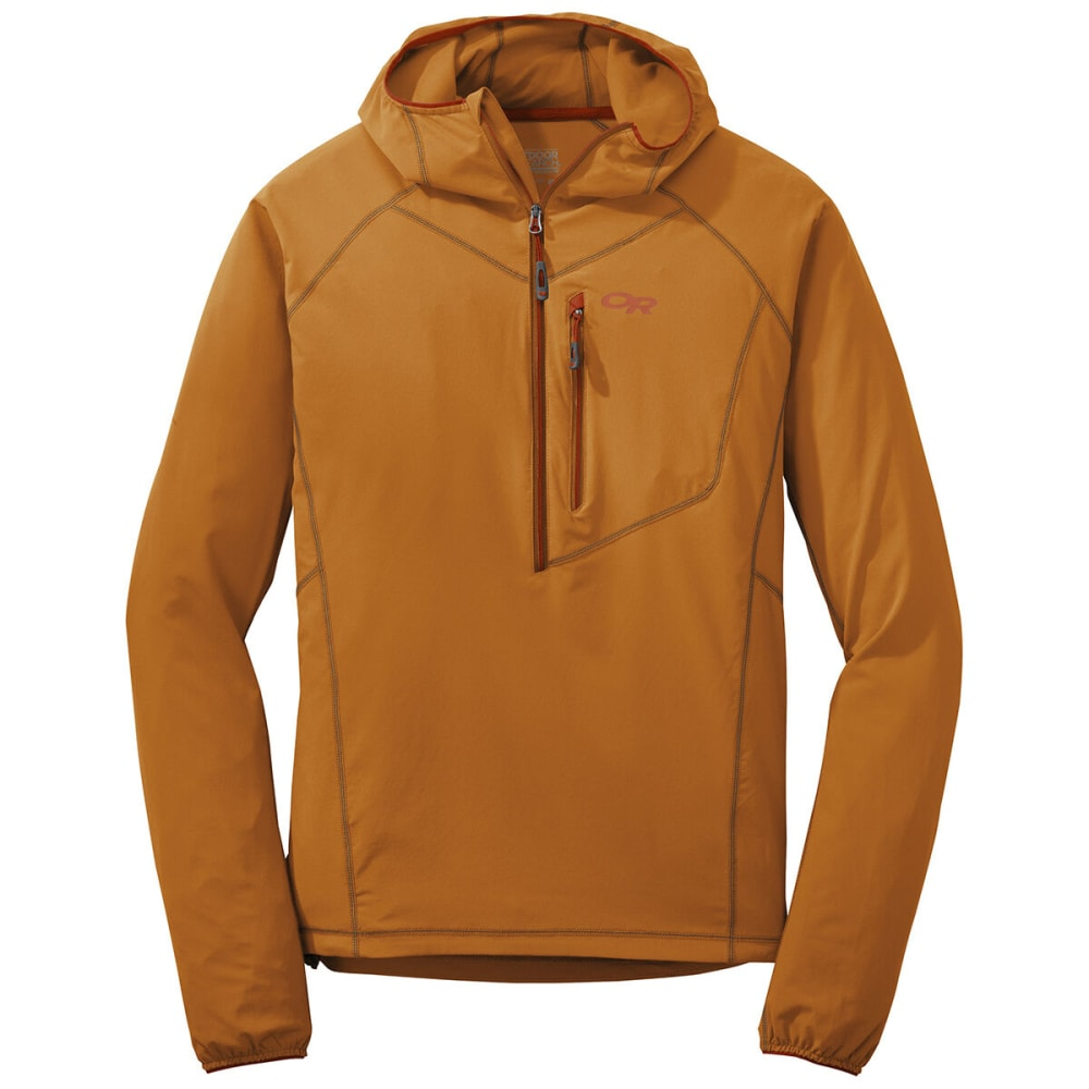 OUTDOOR RESEARCH Men's Whirlwind Hoody Jacket - 1293 PUMPKIN