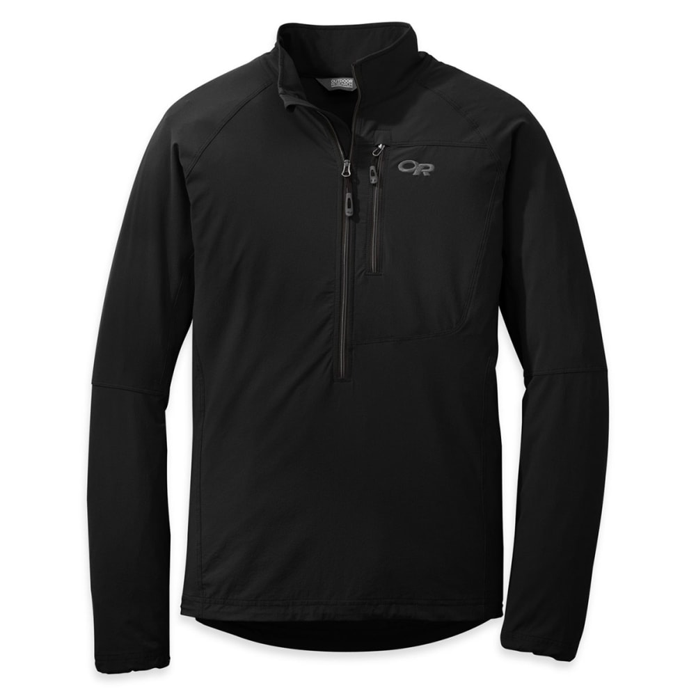 OUTDOOR RESEARCH Men's Ferrosi Windshirt - BLACK