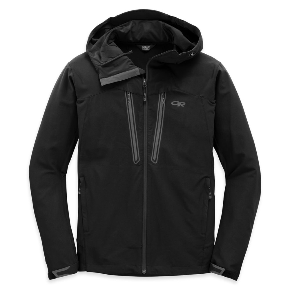 OUTDOOR RESEARCH Men's Ferrosi Summit Hooded Jacket™ - BLACK