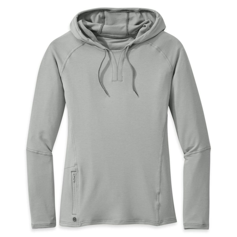 OUTDOOR RESEARCH Women's Ensenada Sun Hoody - ALLOY