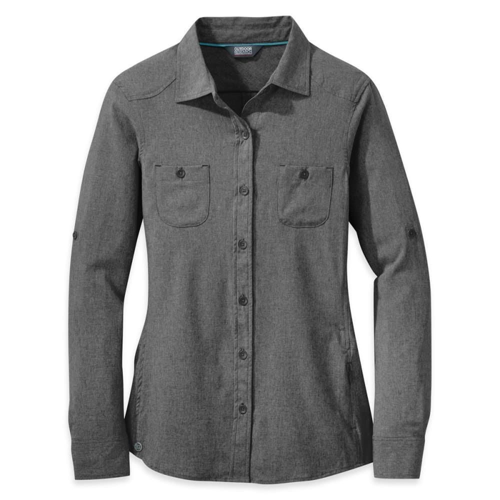 OUTDOOR RESEARCH Women's Reflection Long-Sleeve Shirt - CHARCOAL